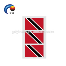 2018 National Flag Sticker Body Face Arm Temporary Waterproof Tattoo Sticker