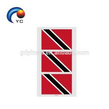 2018 Национального Тела Наклейка Флаг Лицо Рука Водонепроницаемый Временные Татуировки Наклейки