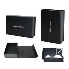 Boîte pliante avec coin pour bijoux et montres