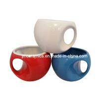 Taza de cerámica de la taza de café de la novedad