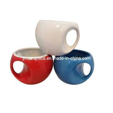 Neuheit Keramik Kaffeetasse Becher