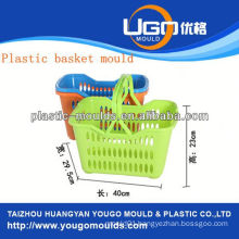 plastic picnic basket mould injection basket mould in taizhou zhejiang china