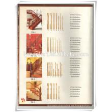 Precio barato y buena calidad pilares romanos / balaustre romano / barandilla de la escalera
