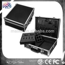 factory manufacturer professional tattoo machine case/aluminum makeup empty case/aluminum cosmetic suitcase