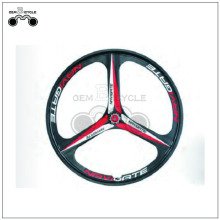 26 inch 3 spoke bicycle wheel navigate