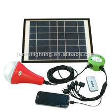 lampe solaire pour la maison à l'aide