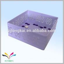 Hangzhou fabrica caixa de armazenamento de documentos dobráveis japonês de malha metálica