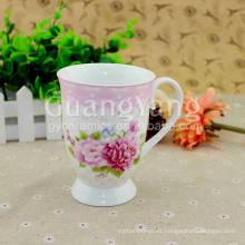 Taza de servicio superior de producción profesional de cerámica