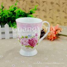Fabrication artisanale excellente qualité tasse à café en porcelaine