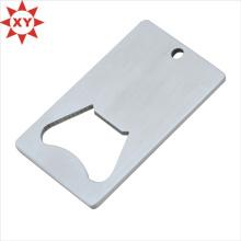 Abridor de garrafas de cartão de crédito chapeamento de prata (xy-mxl91704)