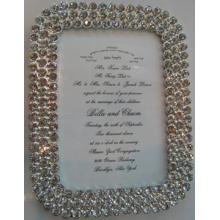 Cadre Photo diamant pur pour cadeau de mariage