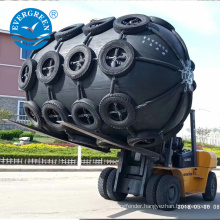 pneumatic Yokohama floating fender Dia 2xL3m