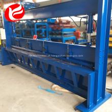 Máquina de cisalhamento ou guilhotina CNC Swing