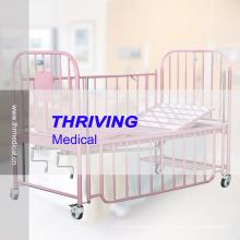 Детская кроватка из нержавеющей стали 2-Crank (THR-CB15)