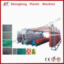 Sunshade Net Making Maschine / Kunststoff Circular Loom