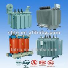 Tipo de aceite y fabricante de transformadores tipo seco en Shanghai