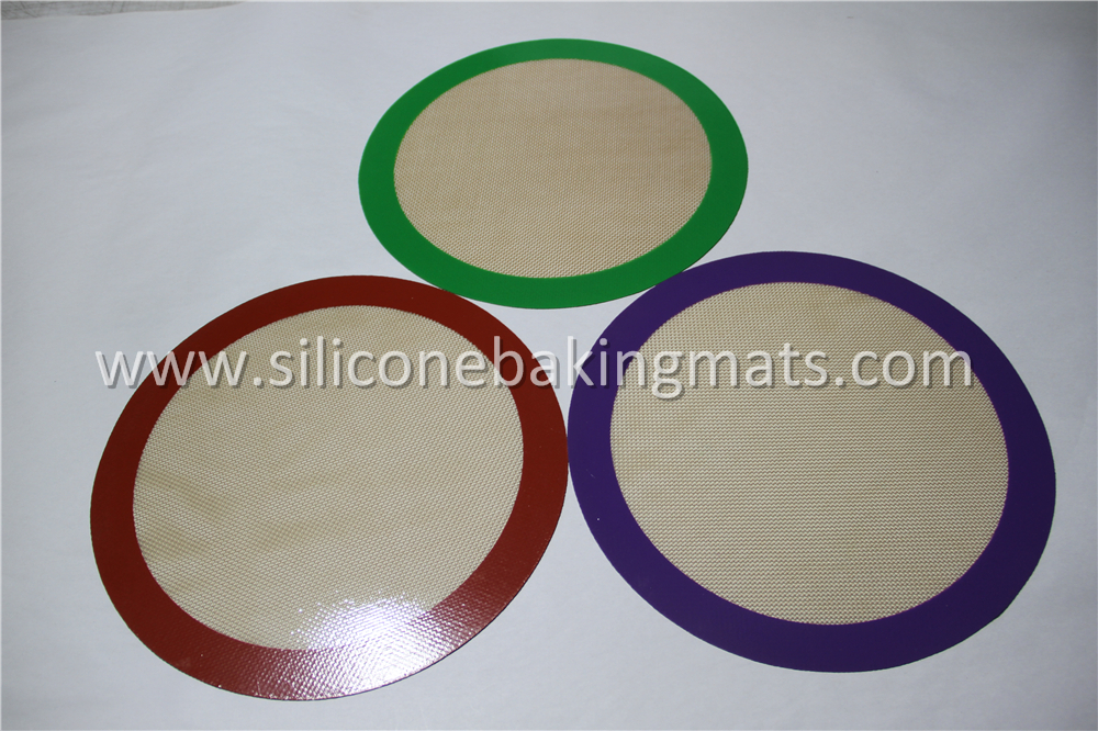Silicone Baking Mat Round Cushion