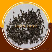 Precios de arena de mineral de hierro de magnetita de Fe 50-70%
