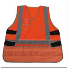 Hi-Visibility Reflective Safety Vest with En471 Standard Roadway