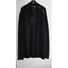 Suéter de punto de las mujeres de la rebeca del invierno con la cremallera