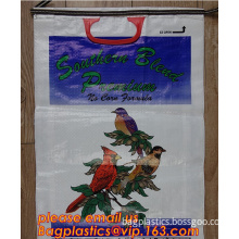 bird feed bags, pig feed bags, horse feed bags, bird feed bags, chicken feed bags, cow feed bags, fish feed bags, seed bags