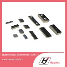 N35-N52 haute qualité personnalisées permanents NdFeB/aimant au néodyme permet Motors