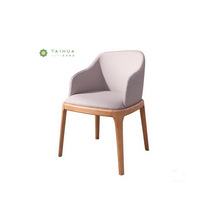 Dining Solid Wood chair with fabric Cushion