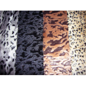 Top Knitting Jacquard Artificial Faux Fur