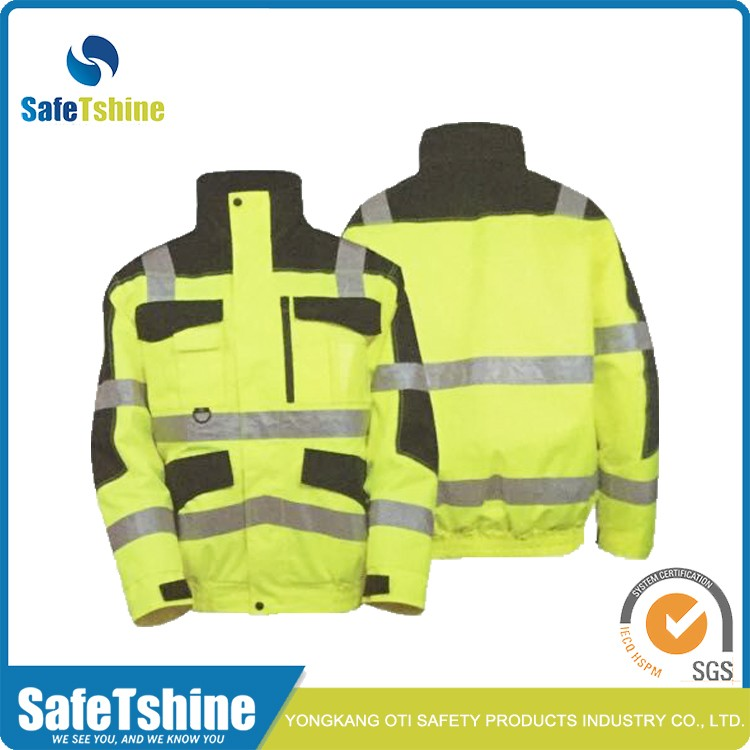Hi Vis Safety Green/orange Jacket