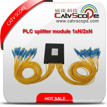 High Quality PLC Optical Coupler Splitter Module 1xn/2xn