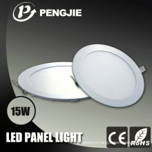 Luz del panel redonda del techo CE / RoHS 3-24W LED para interior (PJ4030)