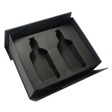 Deluxe Black Collapsible Rigid Gift Box