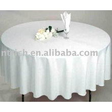 100 % Polyester Tischdecke, Bankett/Hotel Tisch decken, Tischwäsche