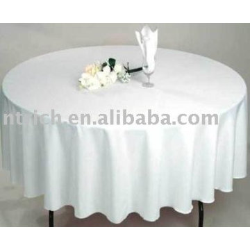 100%polyester tablecloth,banquet/hotel table cover, table linen