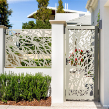Architectural Metal Decorative Laser Cut Fencing Panels