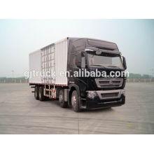 Sinotruk HOWO brand 8X4 drive van truck for 20-48 cubic meter