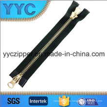 8 # Zwei Seiten öffnen großen Metall Zipper für Taschen