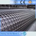 Geogrelha Uniaxial PP para Construção de Via Alta ou Ferrovia para Construção de Estradas