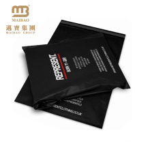 Popular Design Wholesale Plastic Shipping Pacakages Custom Printed Black Poly Mailer