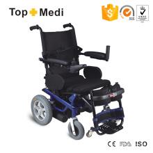 Fauteuil roulant électrique avec ceinture pour repose-jambes