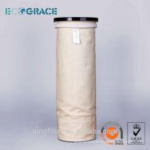 Bolsa de filtro de polvo Aramid de alta temperatura