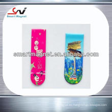 Imán de moda promocional del refrigerador de la decoración de papel de cobre