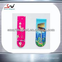 Decoração de papel de cobre promocional imã de geladeira na moda