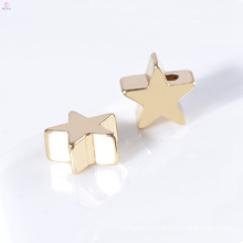 Custom Wholesale Gold Plating 7mm Jewelry Accessories Necklace Star Charms