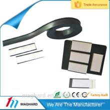 Гибкие резиновые виниловые магнитные ленты с самоклеящимся покрытием