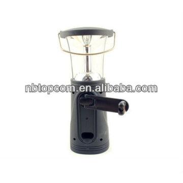 Lanterna de camping de dínamo 6 led