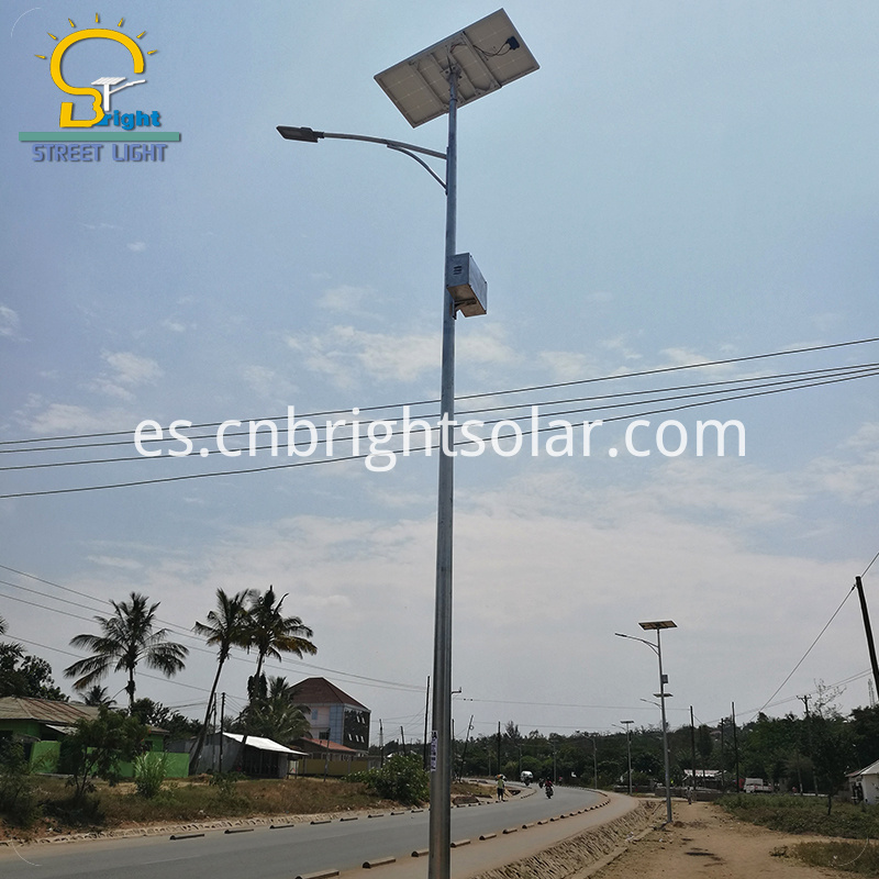 Solar Street Light with Hanging Battery