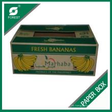 Kundenspezifische Farb-Bananen-Box mit Logo-Druck