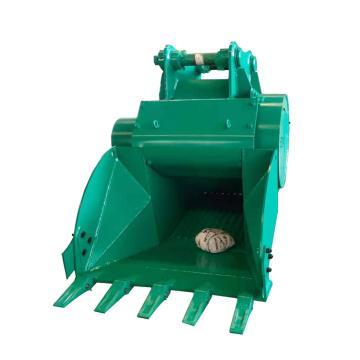Caçamba da máquina trituradora de concreto