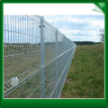 PVC metal 3D rigid iron fencing